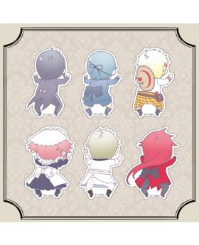 Kuroshitsuji Black Label Yojiyoji Acrylic Badges BLIND PACKS