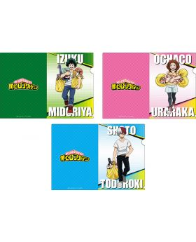 Boku No Hero Academia x Don Quihote Collab Goods Clear File Set A