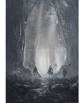 NieR Theatrical Orchestra 12020 Square Enix Goods Clear Poster