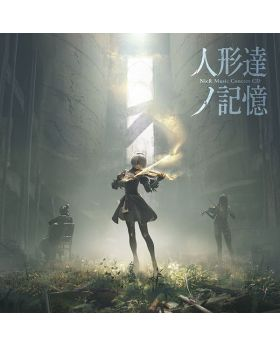 NieR Music Concert CD The Memories of Dolls Square Enix Event Limited
