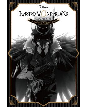 Twisted Wonderland Square Enix Disney Limited Countdown Postcard Book