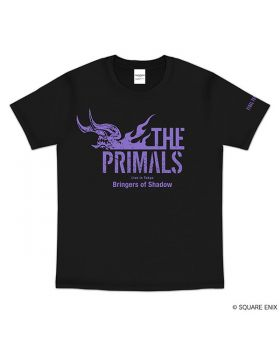 Final Fantasy XIV Square Enix THE PRIMALS Concert Goods Live in Tokyo Bringers of Shadow T-Shirt