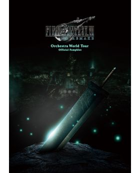 Final Fantasy VII Remake Orchestra World Tour Pamphlet