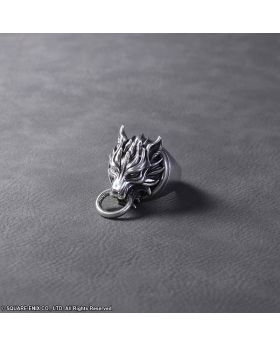 Final Fantasy VII Advent Children Square Enix Limited Edition Silver Ring Cloudy Wolf