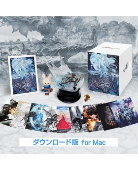 Final Fantasy XIV Endwalker Square Enix Goods Collector's Edition with Game MAC Version