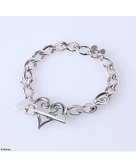 Kingdom Hearts Square Enix Jewelry Silver Kingdom Chain Bracelet