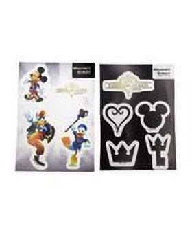 Kingdom Hearts Tokyo Station Pop-Up Shop Magnet Sheet
