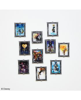 Kingdom Hearts Square Enix Acrylic Magnet Gallery Vol. 2 BLIND PACKS