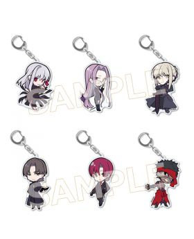 Fate/Stay Night TYPE-MOON Goods Chibi Acrylic Keychain Vol. 3
