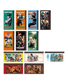 Boku No Hero Academia DRAWING SMASH Exhibition Full Color Pouch Collection BLIND PACKS