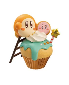 Kirby Paldolce Collection Figurines Vol. 2 Waddle Dee Cupcake