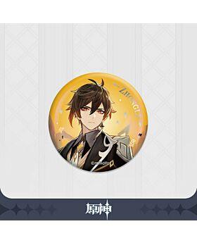 Genshin Impact miHoYo Special Zhongli Can Badge