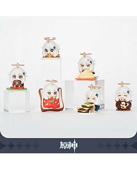 Genshin Impact miHoYo Paimon Chibi Food Figurine Set
