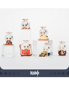 Genshin Impact miHoYo Paimon Chibi Food Figurine BLIND PACKS