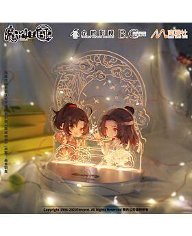 Mo Dao Zu Shi Nan Man She Official Light Up Wei Wuxian and Lan Wangji Acrylic Stand