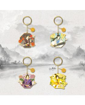 Mo Dao Zu Shi Nan Man She Official Metal Keychains