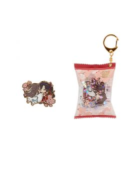 Heaven Official's Blessing Nan Man She Official Goods Candy Wrapper Keychain and Pin