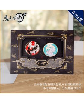 Mo Dao Zu Shi Monzon Official Metal Pin Badge Set