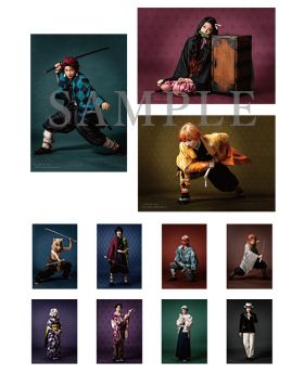 Kimetsu No Yaiba Aniplex+ Stage Play Goods Bromide SET