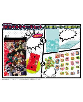 Boku No Hero Academia DRAWING SMASH Exhibition One For All Multi Case with Stickers