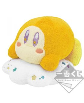 Ichiban Kuji Kirby Cloudy Candy RARE PRIZE Fuwafuwa Waddle Dee Large Plush INDIVIDUALS