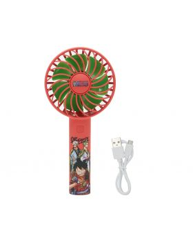 One Piece Jump Shop USB Chargeable Handheld Mini Fan