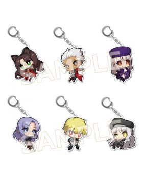 Fate/Stay Night TYPE-MOON Goods Chibi Acrylic Keychain Vol. 2