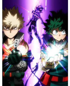 Boku No Hero Academia HEROES RISING BluRay with Bonus Items SET
