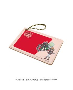 Yu-Gi-Oh! GX GraffArt Pass Case Red