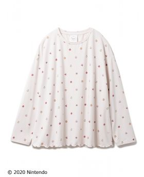 Animal Crossing x Gelato Pique Collab Pullover Fruits Pattern