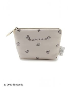 Animal Crossing x Gelato Pique Collab Small Pouch Villager Pattern