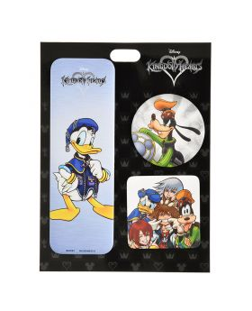 Kingdom Hearts Disney Store Exclusive Can Badge Donald & Friends
