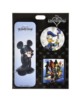 Kingdom Hearts Disney Store Exclusive Can Badge Mickey & Friends