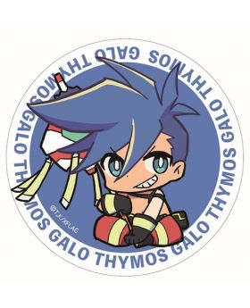 PROMARE Xebec Co Can Badge Galo Thymos