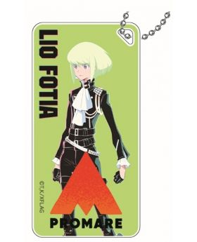 PROMARE Xebec Co Dormitoria Acrylic Keychain Lio Fotia Normal Design