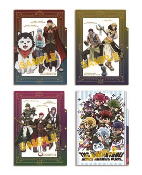 Kuroko No Basket Animate Special Goods 3 Pocket Clear File