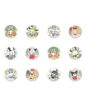 Identity V x Sanrio Characters Can Badge Vol. 2 Chibi Ver. SET