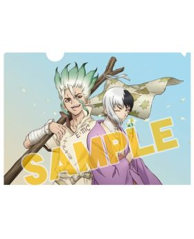 Dr. STONE Animate Limited Edition Clear File