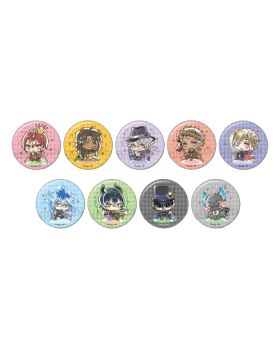 "Twisted Wonderland Animate ""Have Fun"" Goods Can Badge BLIND PACKS"