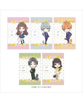Fruits Basket Animate Limited Edition ETERNO RECIT Chibi Postcard Set Type A