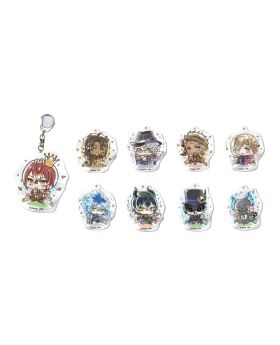 "Twisted Wonderland Animate ""Have Fun"" Goods Acrylic Keychain BLIND PACKS"