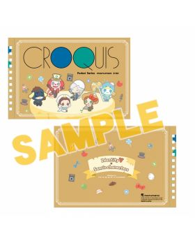 Identity V Sanrio Characters Collection Croquis Sketch Book Type A