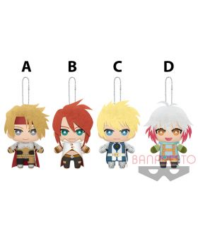 Tales of Series Tomonui Plush Keychains Vol. 8