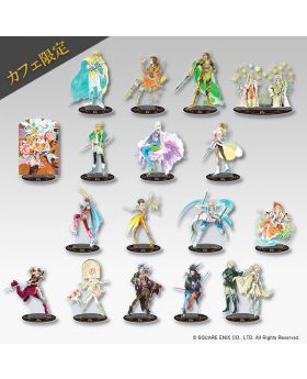 SAGA Square Enix Cafe Exclusive Acrylic Stand BLIND PACKS