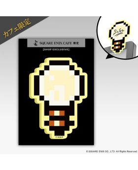 SAGA Square Enix Cafe Exclusive Light Bulb Sticky Notes