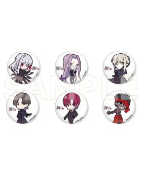 Fate/Stay Night TYPE-MOON Goods Chibi Can Badge Vol. 3 BLIND PACKS