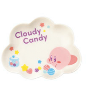 Ichiban Kuji Kirby Cloudy Candy Small Plate Kirby INDIVIDUALS