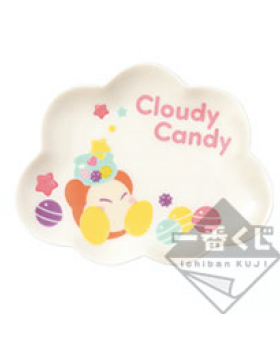 Ichiban Kuji Kirby Cloudy Candy Small Plate Waddle Dee INDIVIDUALS