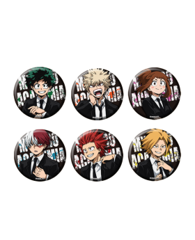 Boku No Hero Academia Toho Animation Jump Festa 2020 Goods Can Badges BLIND PACKS