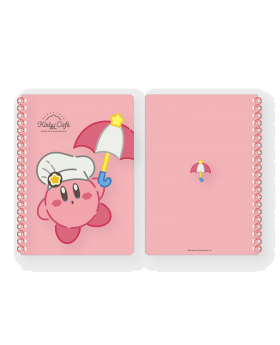 Kirby Cafe Tokyo Pink Notebook